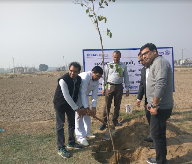 Jindal Realty GREEN DRIVE: Join the mission to make Sonepat an ideal city