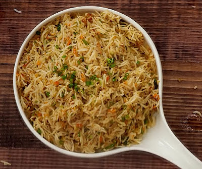 How to make fried rice at home step by step
