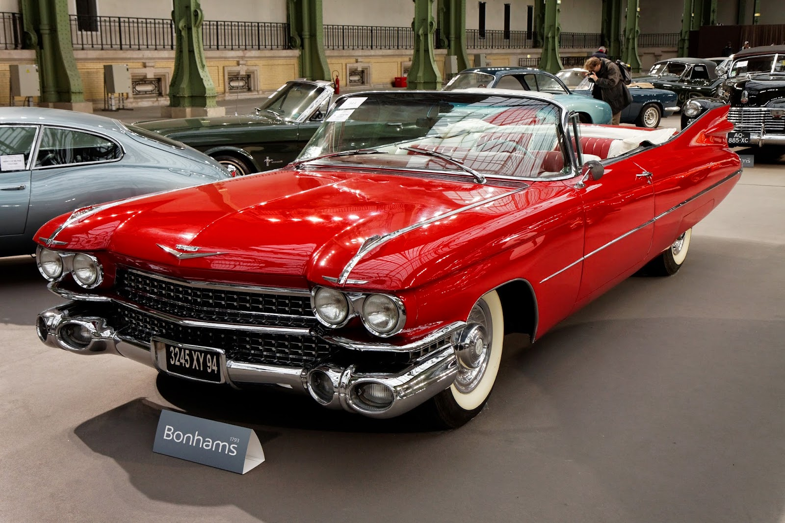 red cadillac bonhams
