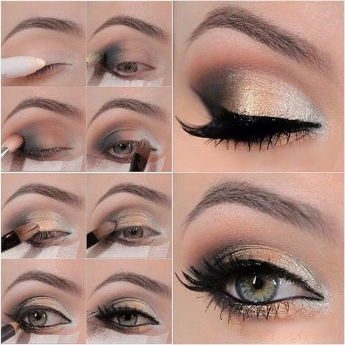 Simple Easy and best Eye Make up Tutorial - Just Bridal