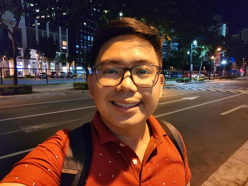 Selfie low light C