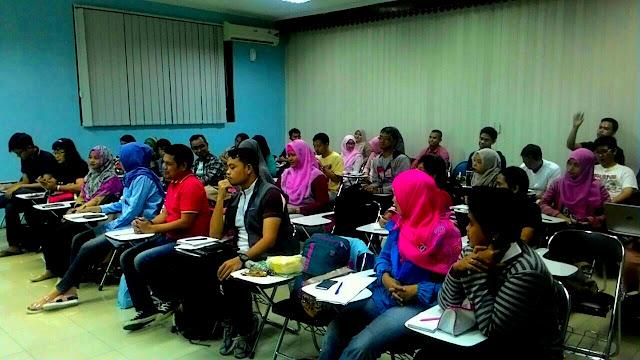 peserta belajar content blog