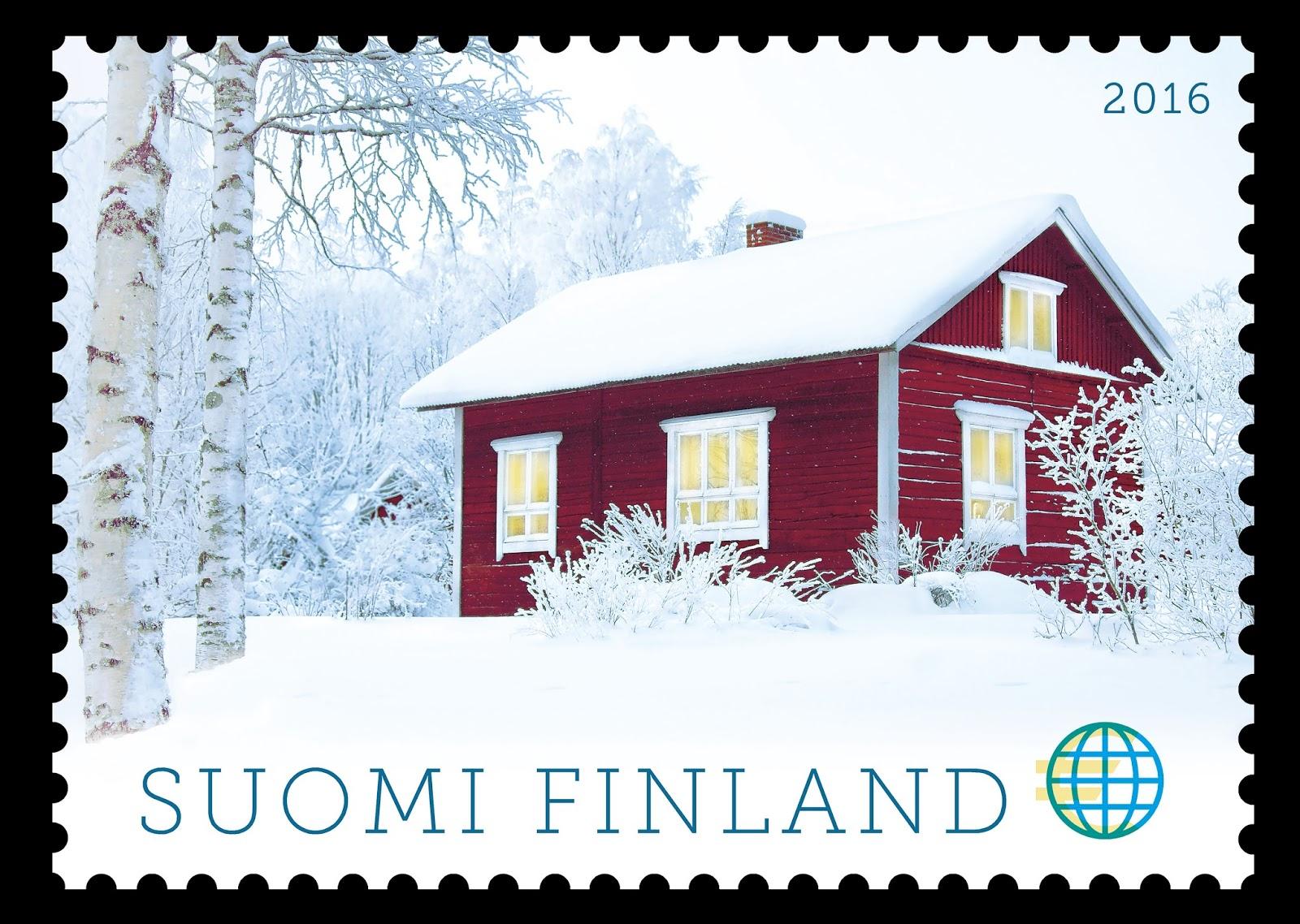Ulkomaan joulupostimerkki