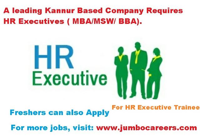 Latest jobs in kannur, hr jobs in kannur kerala