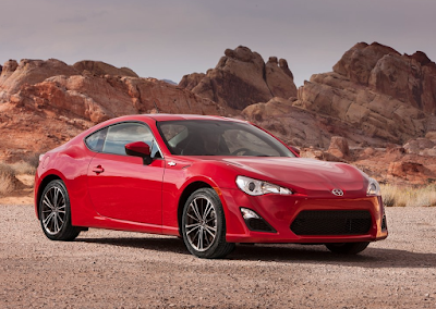 2013 Scion FR-S red