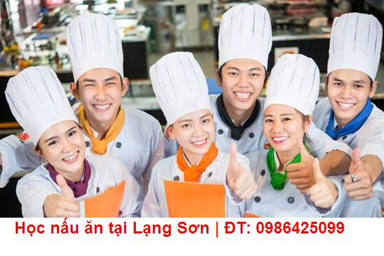 Học nấu ăn tại Lạng Sơn