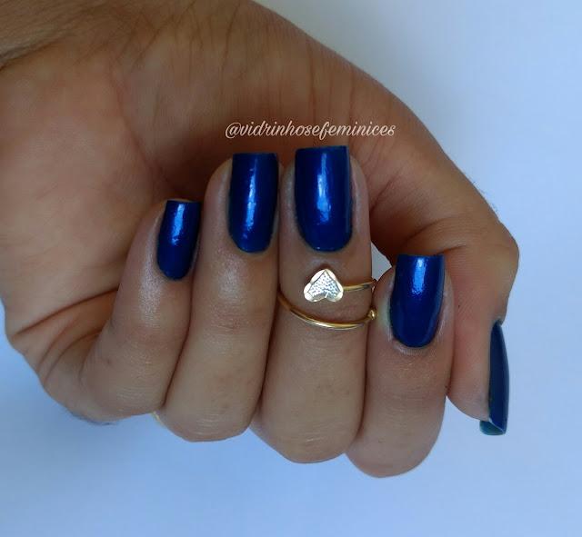 lançamento da anita esmaltes lápis lazuli