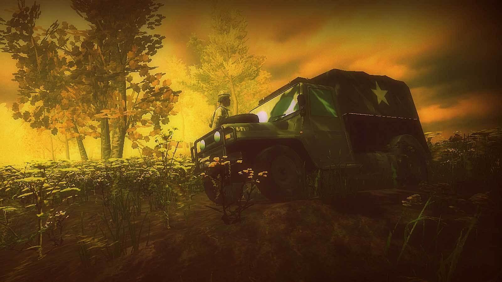 تحميل لعبة War Truck Simulator رابط مباشر + تورنت
