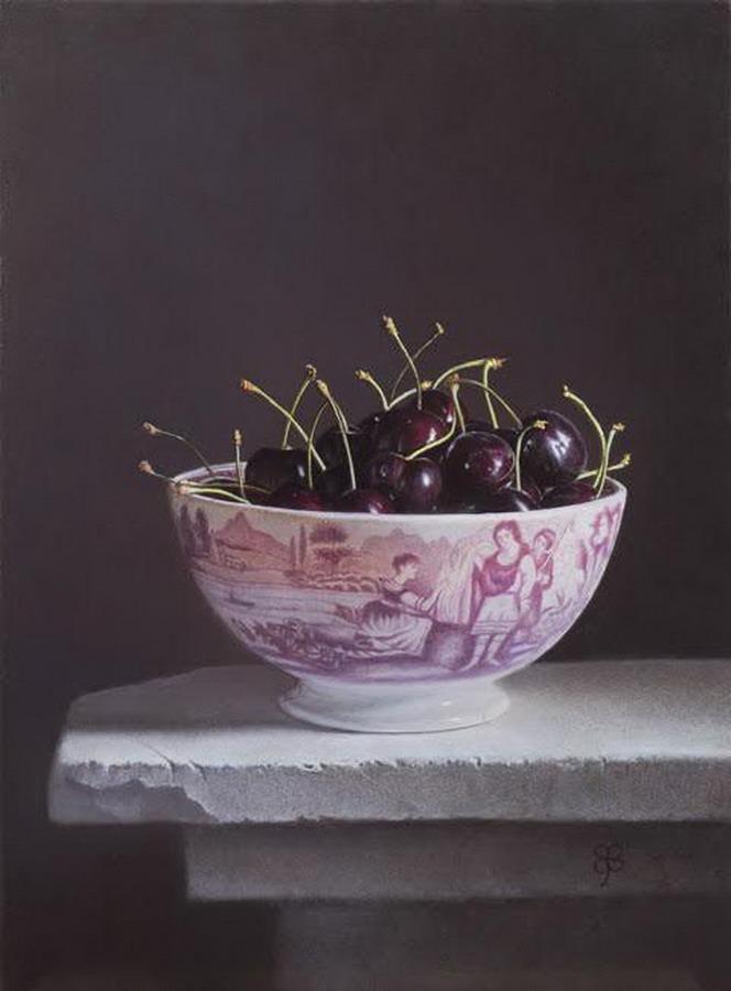 Imgenes Arte Pinturas Vasijas de Porcelana con Frutas Bodegones de Erkin