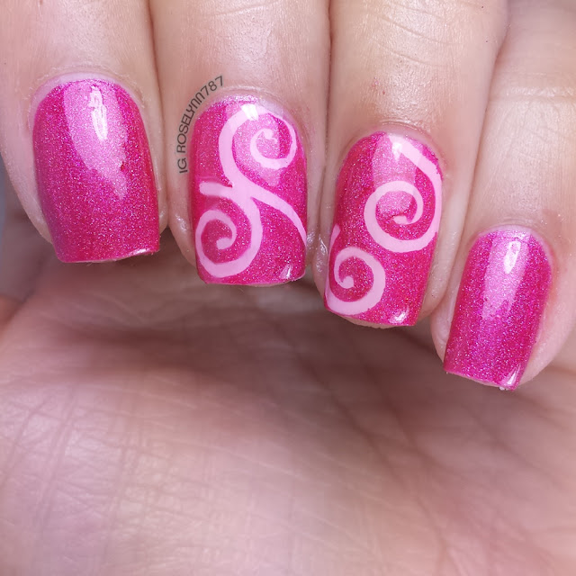 Twinkled T Swirls Vinyls