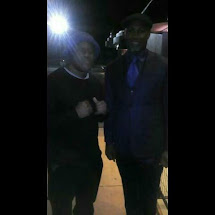 Hip Hop Champ Avalanche The Architect with boxing champ Lennox Lewis