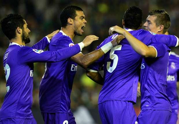 Madrid Menang Telak Atas Betis Skor 6-1 Untuk Madrid
