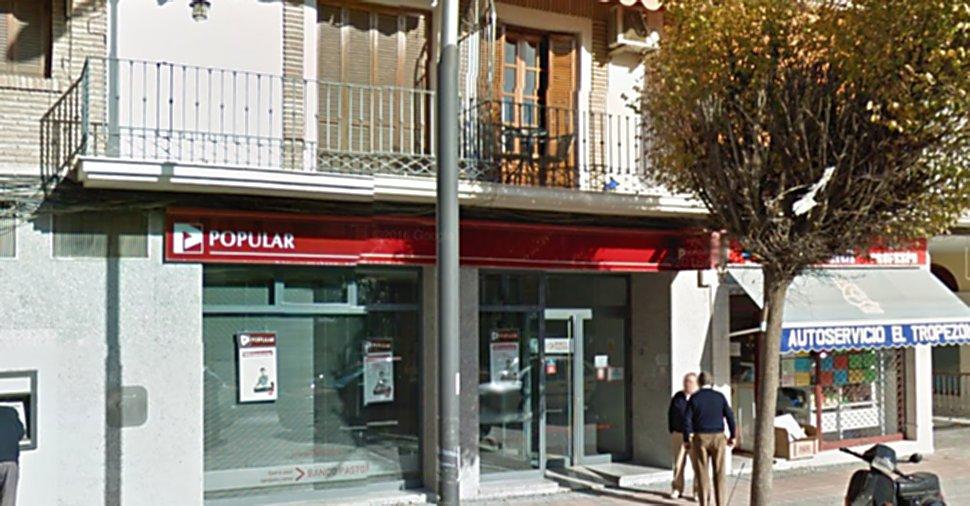 Pontaneando el banco popular tiene previsto cerrar una for Oficinas banco popular murcia