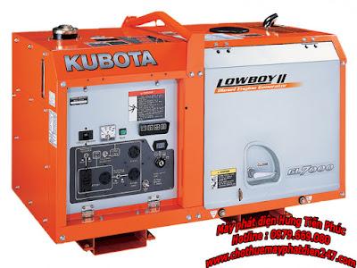 Máy phát điện Kubota 6.5kva GL7000 – GL7000TM