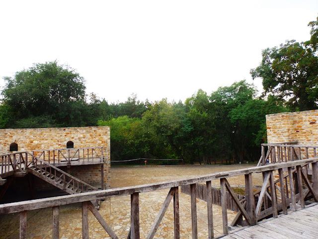 Aktualnie w Czehryniu jest tylko fragment zamku