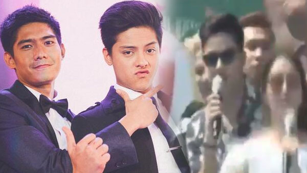 Daniel Padilla curses Robi Domingo on national tv