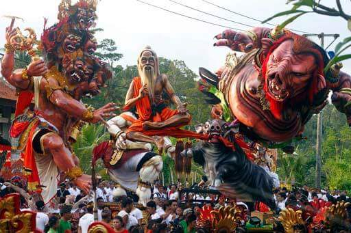 Nyepi: Ogoh-ogoh 2017 parade