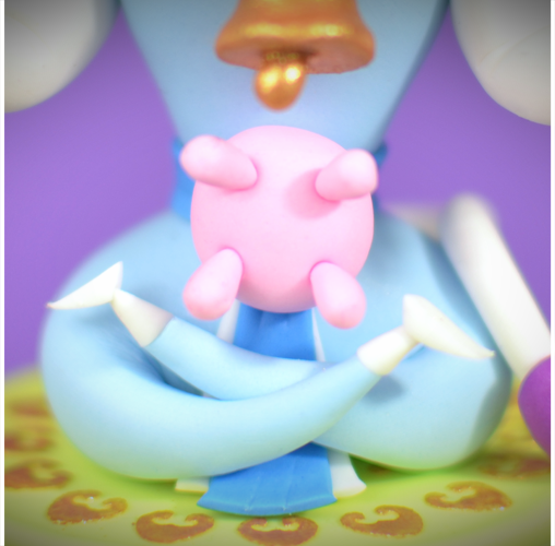 Cupcakes « Dieux-Animaux Hindous » - Surabhī