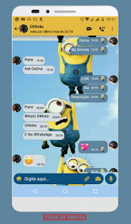 Minions Theme YOWhatsApp & Fouad WhatsApp By DMota