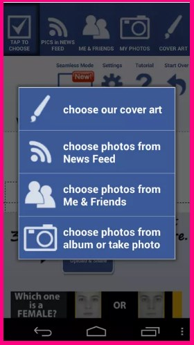 how to create cover photo on facebook