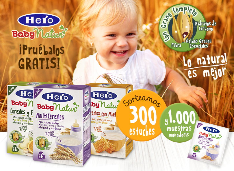 300 estuches de Hero BabyNatur