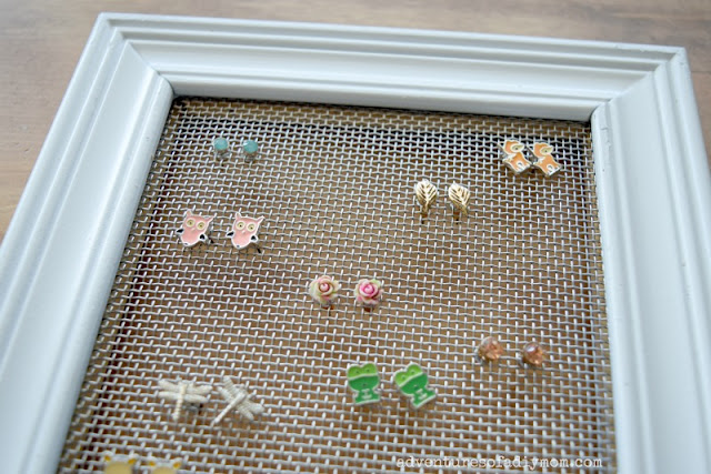 easy earring organizer