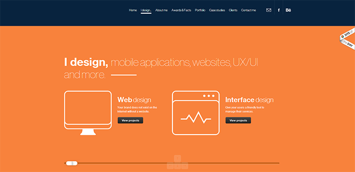 Flat UI design inspiration