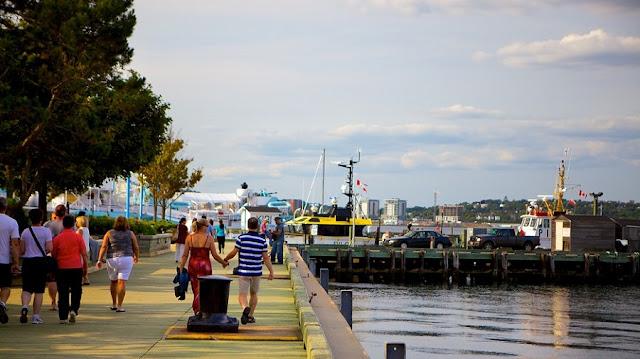 Waterfront em Halifax