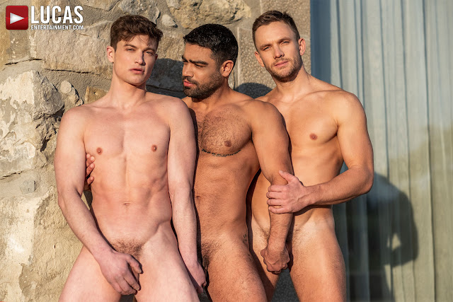 LucasEntertainment - ANDREY VIC AND WAGNER VITTORIA DOUBLE-TEAM RUSLAN ANGELO