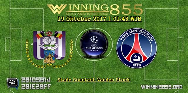Prediksi Skor Anderlecht vs PSG 19 Oktober 2017