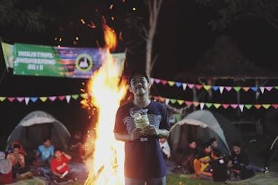 paket camping jogja dan paket makrab jogja desa wisata tinalah