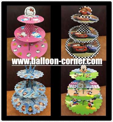 Cake Tier Motif Karakter / Standing Cake Motif Karakter