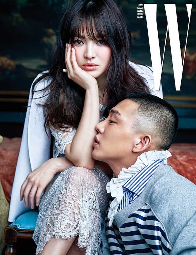 Song Hye Kyo, Song Hye Kyo Yoo Ah In W March 2017, Song Hye Kyo W, Song Hye Kyo 2017, Song Hye Kyo and Yoo Ah In,