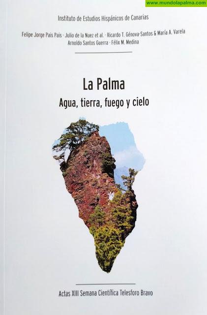 La presentación de un libro dedicado a la naturaleza de La Palma abre mañana el programa de actividades del Día Mundial del Agua