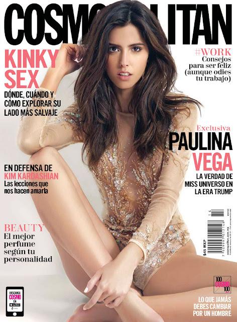 Miss Universe, @ Paulina Vega - Cosmopolitan Mexico, July 2016