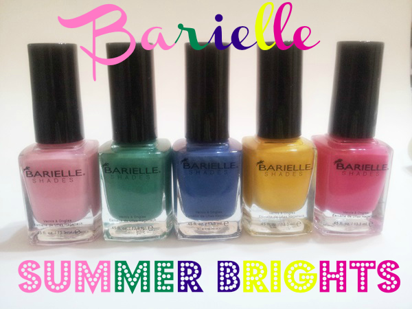 Barielle Summer Brights Collection