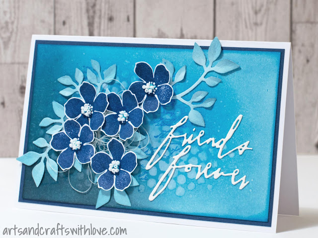 Cardmaking: Card for a friend