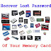 Recover Lost Password Of Memory Card | Retrieving Memory Card Password