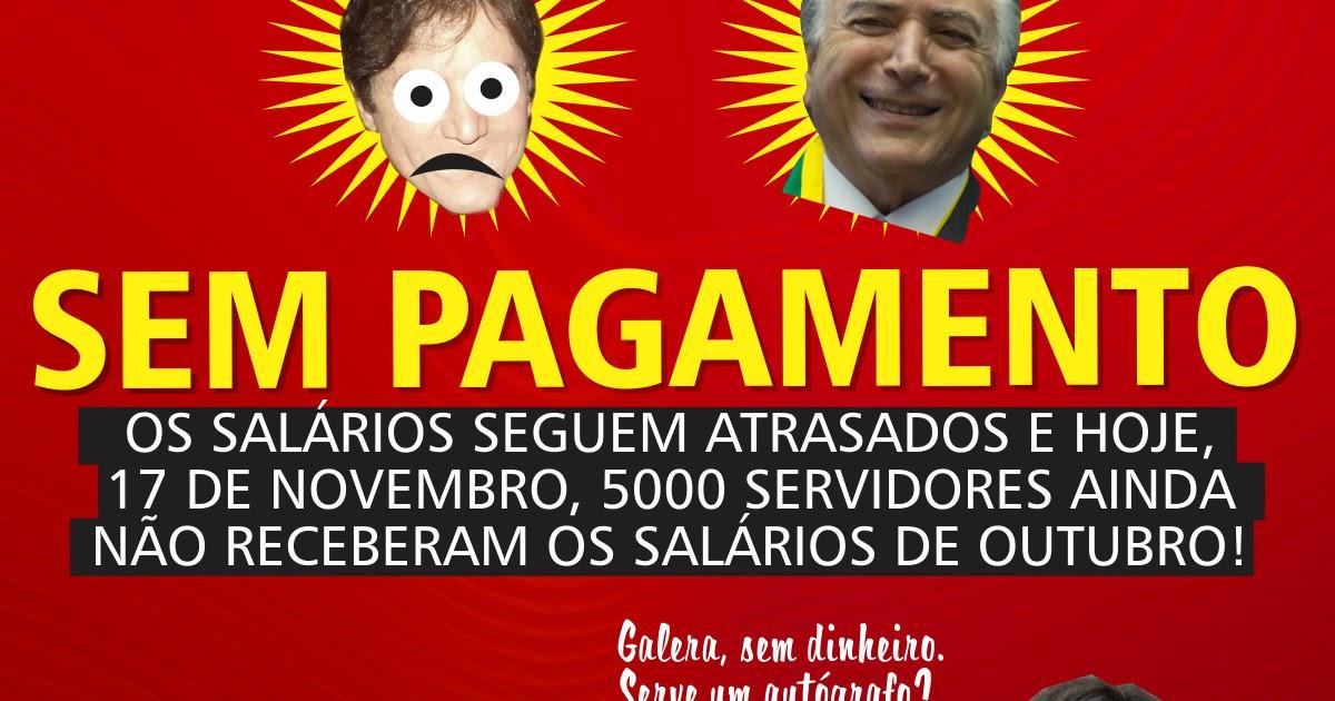GOVERNO DO RN PRECISA DE R$ 350 MILHÕES PARA PAGAR AS FOLHAS DE FIM ...