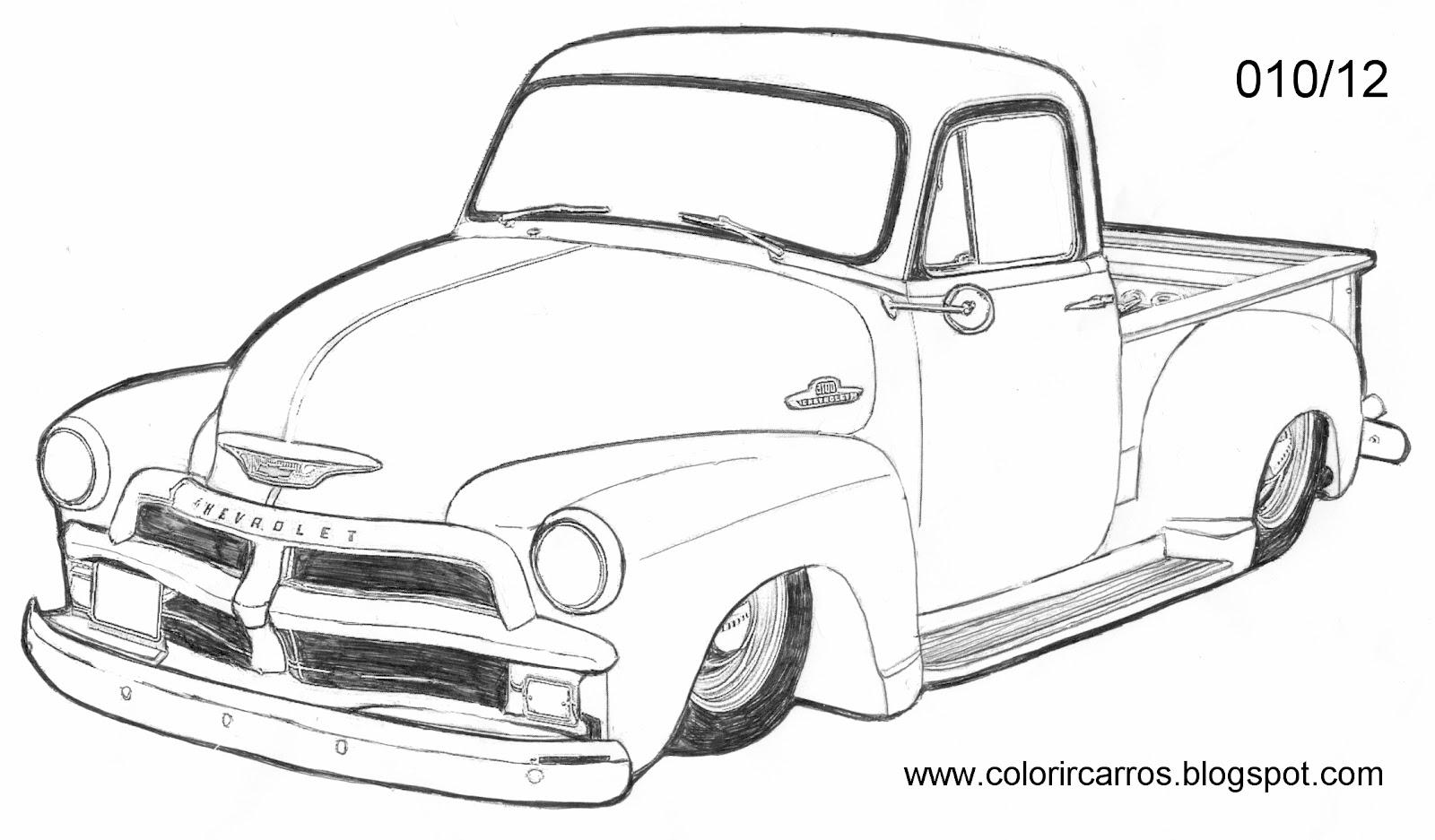 Dibujos De Carros Para Coloriar