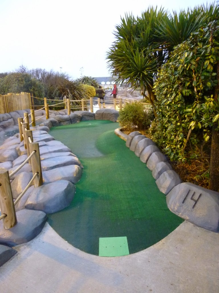 Hole 14 at Hastings Adventure Golf course (Feb 2015)