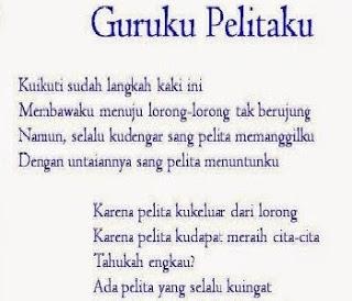 Puisi untuk Guru Singkat, Pahlawan Tanpa Tanda Jasa, Guruku Tercinta