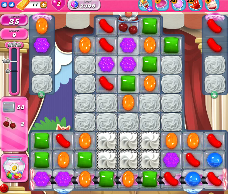 Candy Crush Saga level 2306