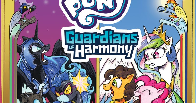 hasbro announces first guardians of harmony comic mlp merch