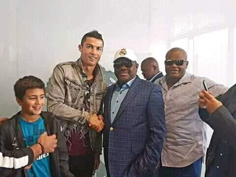 Gov. Wike meets Ronaldo, Ramos, partners Real Madrid for football academy