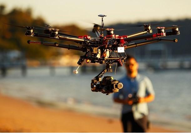Drone ile kaçakçılık yapan çete yakalandı