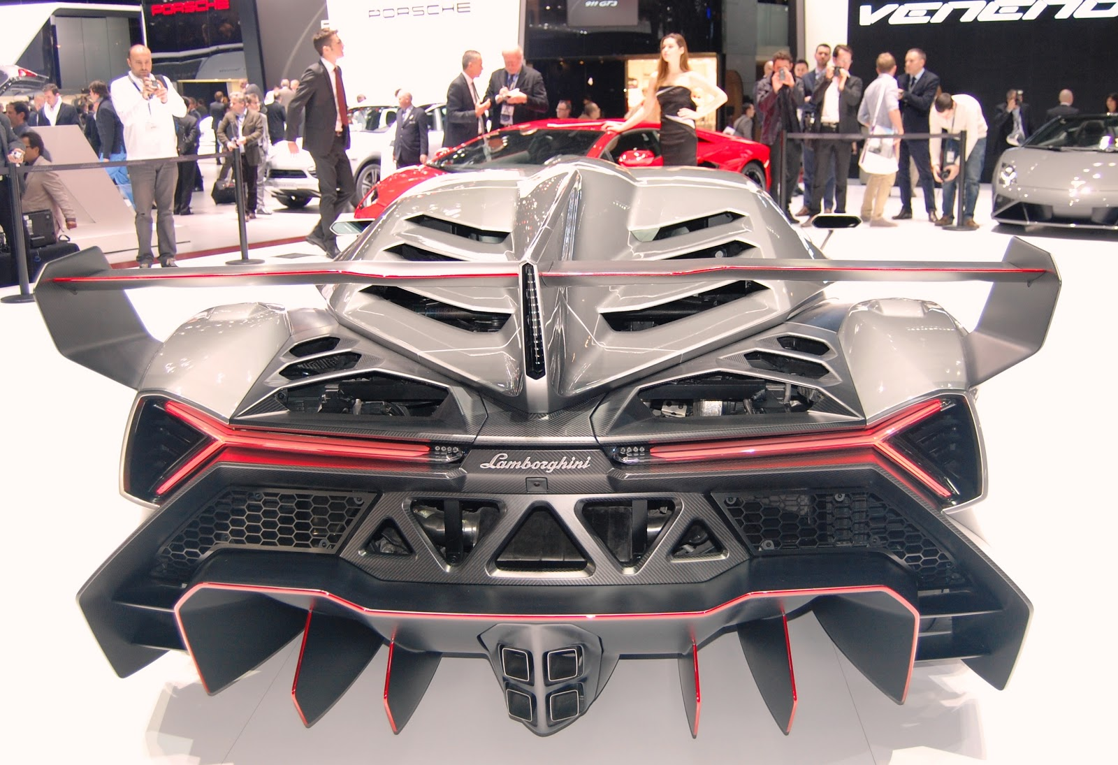 Super Custom Car 2014 Lamborghini Veneno