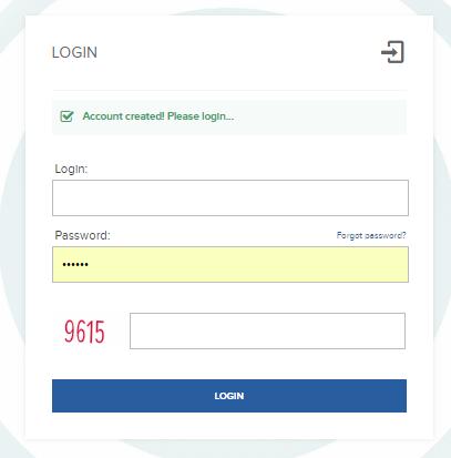 Регистрация в Bit Benefit 3