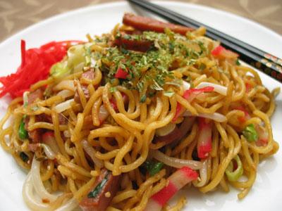 Yakisoba Japanese Fried Noodles Recipes Dishmaps