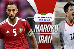 Live Streaming Morocco vs Iran 15 Juni 2018